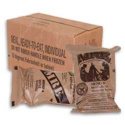 Military/MRE (Meals Ready To Eat) Bags Made Specifically For Military p_urpose