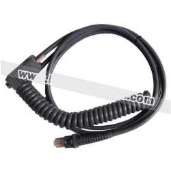 For Datalogic PD7100 COM RS232 3M Coiled Cable