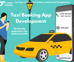 Taxi Booking App Development Services