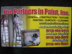 The partners in paint, inc. 8134840414 tampa florida
