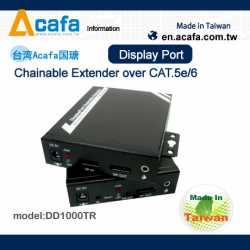 ACAFA DD1000TR Display Port Chainable Extender over CAT.5e/6