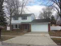 Clinton Township, MI, Macomb County Home for Sale 4 Bed 2 Baths