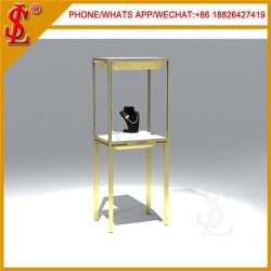 Stainless Steel Jewelry Display Furniture