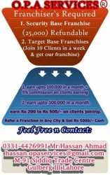 franchiser required