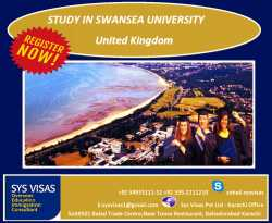 Study in Swansea University, United Kingdom
