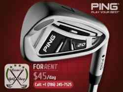 Ping i20 Iron for Rent