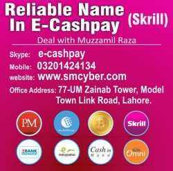 Buy,Sell,Cashout,Withdraw Perfect money, and webmoney in Pakistan