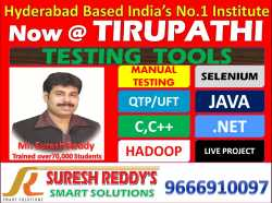 basic software training C,C++,Java,Manual testing,selenium,qtp
