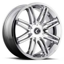 Kraze Cray (141) Wheels (Chrome)