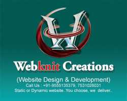 Webknit Creations - Website Design and Development Company.