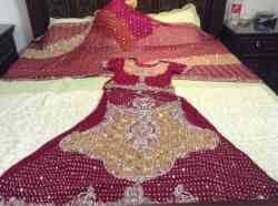 available on rent bride lehnga