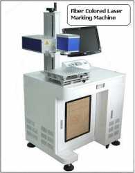 Colored Fiber Laser Marking Machine made in Korea