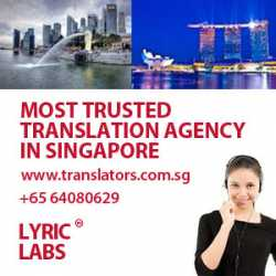 Quick and fast translation services in Singapore?