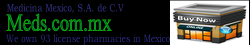 Buy Reliable Medicine from Medicina Mexico, a license Pharmacy in Tijuana