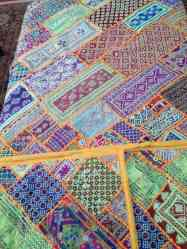 Pakistani hand made bed sheet for sale!