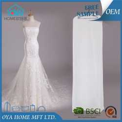 Promotional Store Mesh Wedding Dress Cover Bag