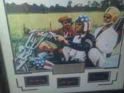 Easy Rider.1969 Autographed Custom Matted Framed.