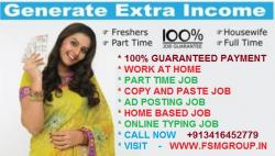 Earn up to Rs.50,000+ ($ 1000) PM through FSM GROUP