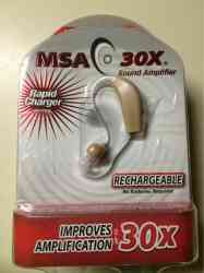 Msa 30x sound amplifier