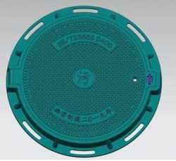 SMC Manhole Cover With Sealing Gasket Rubbers