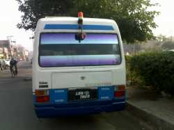 Toyota coaster saloon for sale ...1992 model..