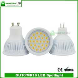 LED Lampen GU10 With 24SMD 80CRI Dimmable And CE ROHS