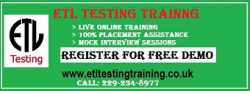 ETL Testing Training with Job Placement Assistance