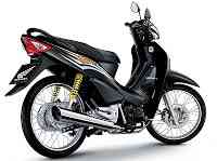 Honda wave 100r motorcycle