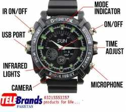 Full Hd Spy Camera Wrist Watch Telebrands.pk Karachi-03217778851.pk