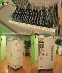 Tablet / iPad Locker and charger
