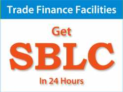 We have direct and efficient providers of Bank Guarantee (BG'/SBLC),