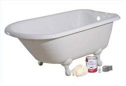 Easy To Use Brush Roll On Bathtub And Tile Painting Kit.