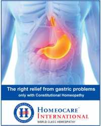Stay Away from Gastric Problems with Homeopathy Treatment