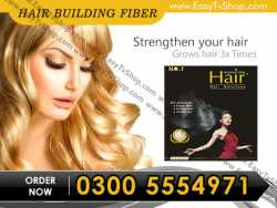 Hair buildindg fiber oil in gujranwala 03005554971