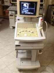 Ultrasound hitachi model: eub-525 color doppler with micro convex probe only.