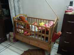 Baby Crib, Imported, Wooden