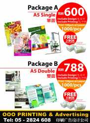 promotion design with printing in ipoh malaysia