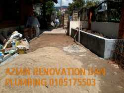 azmin renovation and plumbing services 0105175503
