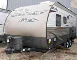 2014 Forest River Cherokee Grey Wolf 17BH Limited - AOK RVs, Laurie Missouri