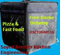 Pizza & Fast Food Delivery Bag