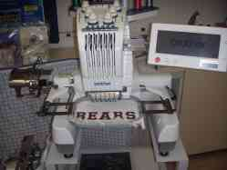 Brother PR600ii 6 Needle Embroidery Machine Business Start Up Package
