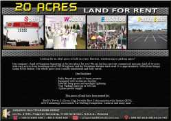 20 Acres Land for Rent at Pinggiran Senawang, Negeri Sembilan
