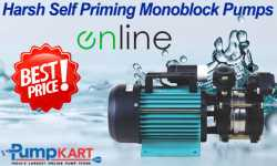 Harsh Self Priming Monoblock Pumps Online At the Best Prices
