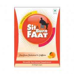 SIT n BURN FAAT helps you to achieve fat loss and positive weight management