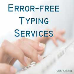 Certified Typing Services,Data Entry-Quick,Error FREE Typing Services in California
