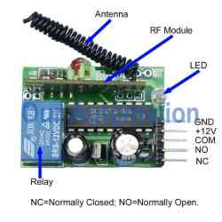 12V Mini Garage Door Motor ControllerMomentary Control Mode