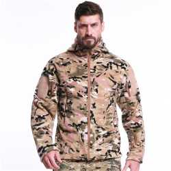 Military Camouflage Fleece Tactical Jacket