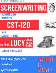 Learn to write for the big screen!