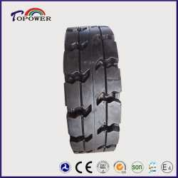 Pneumatic Solid Electric Forklift Tire