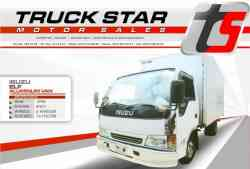 Isuzu Elf Aluminum Van Truck For Sale